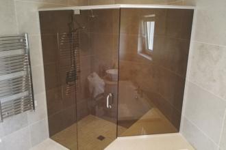 Flesk Glass bespoke showers