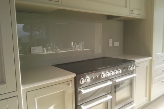 Flesk Glass grey splashbacks